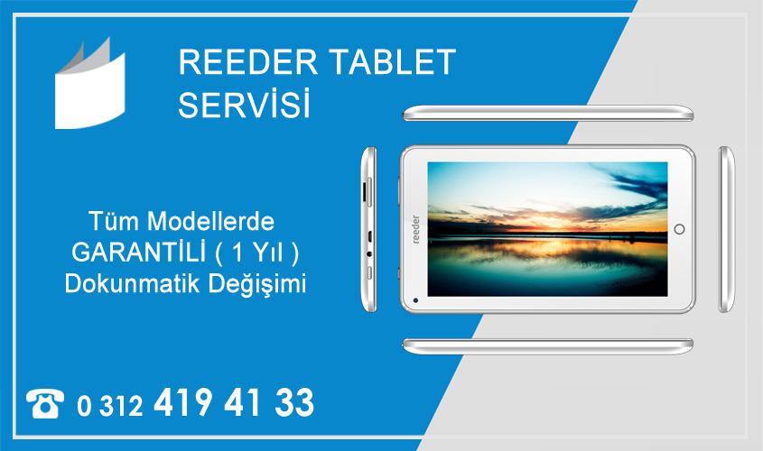 Reeder Tablet Tamiri ve Teknik Servisi Ankara - Kızılay Garantili Tamir